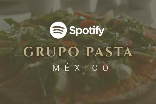 Spotify Grupo Pasta